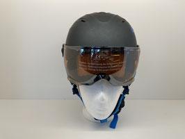 Uvex junior visor pro titanium/blue mat