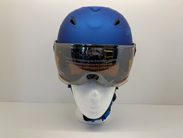 Uvex junior visor pro blue met mat