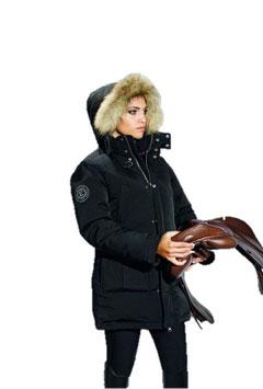 Equiline Damen Longjacket Hellen Black