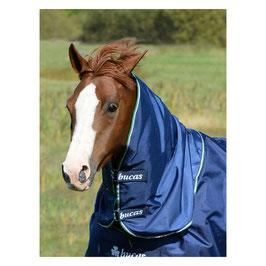 Bucas Halsteil für Smartex Rain, navy blue