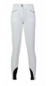 Equiline Damenreithose France - Vollbesatz - white