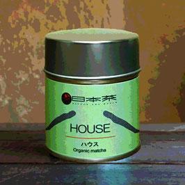 """House"" Organic Matcha・thin tea grade"