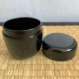 Wooden Black Lacquer Natsume