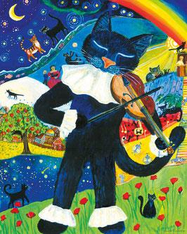 Kinderposter Musikträume groß