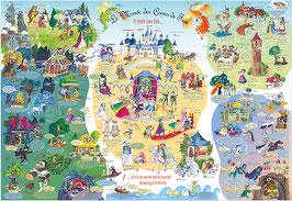 Lernposter Märchen Französisch