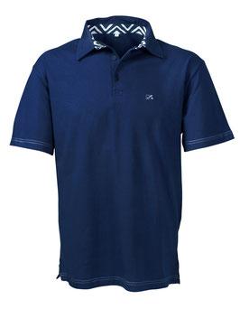 Polo-Hemd Männer blau