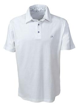 Polo-Hemd Männer weiß