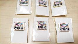 沖縄愛オリジナルピンバッジ送料税別2000円をキャンペーン期間中は全て込で2000円