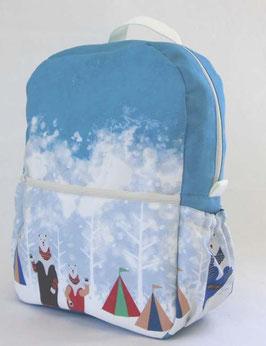 シロクマのキャンプ【キッズリュック】winter