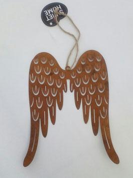 Flügel Engelflügel Rost Style 19 x 15 Weihnachten Garten Swiet Home