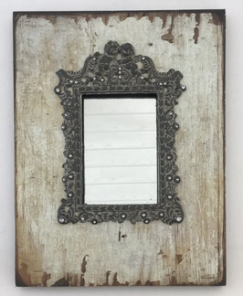 Spiegel Clayre & Eef Wandspiegel Rahmen Engel Shabby Chic Vintage Stil