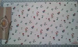 Türmatte Fußmatte Bunt Blumen 74 x 44 cm Clayre & Eef