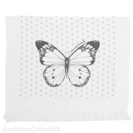 Gästehandtuch Set Schmetterling  100 % Baumwolle Clayre & Eef