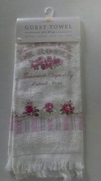 2 Gästehandtücher Essence de Roses Clayre & Eef 40 x 60 cm
