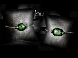 Bracciale LOU - Verde avventurina