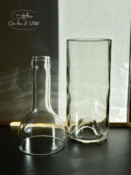 Vaso per pianta, trasparente