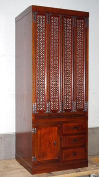 欅材格子の仏壇漆16