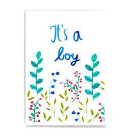 Postkarte *It's a boy*
