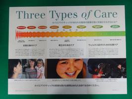 3タイプのケア
