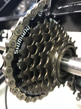 Shimano cassettes