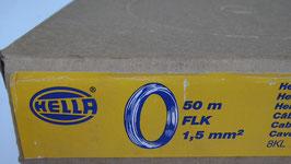 Hella Kabel 1,5 mm 50 Meter  Rot