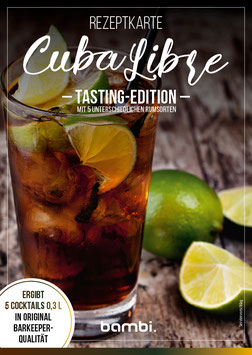 "CUBA LIBRE ""Tasting Edition"" Cocktail-Box"