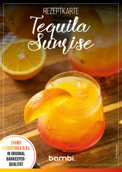 TEQUILA SUNRISE Cocktail-Box