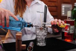 "Tasting-Box und Anmeldung DIGITALES Gin Tasting ""Gin, Botanicals & Tonics"" (offener Kurs)"