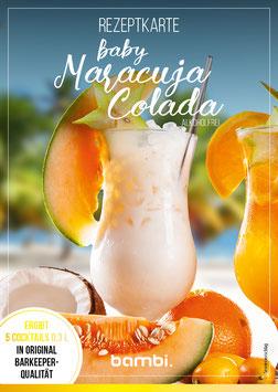 BABY MARACUJA COLADA (ALKOHOLFREI) Cocktail-Box