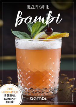 """BAMBI"" Cocktail-Box"
