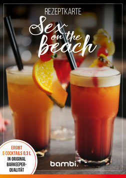 SEX ON THE BEACH Cocktail-Box