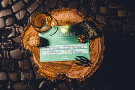 """Gutschein  """"Whiskey Tasting"""" OHNE SPIRITUOSEN"""