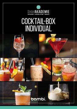 Individuelle Cocktail-Box