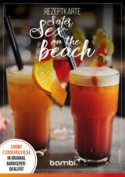 SAFER SEX ON THE BEACH (alkoholfrei) Cocktail-Box