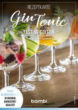 "GIN TONIC ""Tasting Edition"" Cocktail-Box"