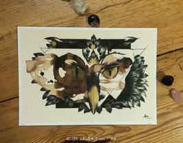 """owl"" print"