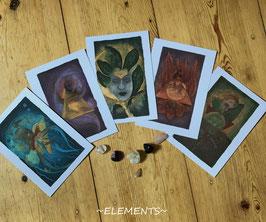 """""""elements"""" Print-Set"""