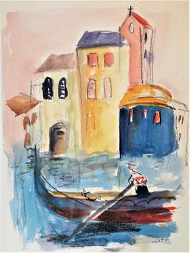 Venedig 1, 30 x 40 cm