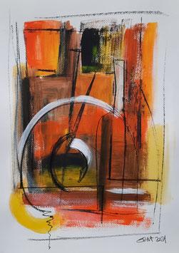 farbig, Acryl, 30 x 40 cm