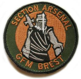 ÉCUSSON S.ARSENAL G.F.M BREST