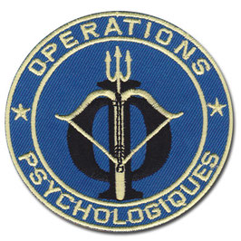 "ÉCUSSON DU C.O.S ""operations psychologiques"""