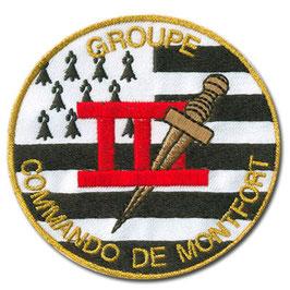 ÉCUSSON COMMANDO DE MONTFORT GROUPE 3
