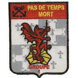 ÉCUSSON COMMANDO DE MONTFORT GROUPE 1