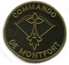 ÉCUSSON COMMANDO DE MONTFORT OPEX COS AFGANISTAN