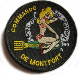 ÉCUSSON COMMANDO DE MONTFORT GAS 3