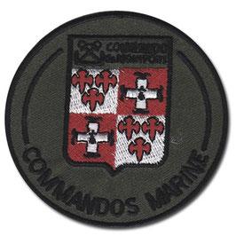 ÉCUSSON  COMMANDO DE MONTFORT  B.V.