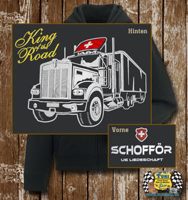 "Hoodie ""King of the Road"""
