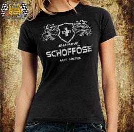 """T-Shirt """"Super Schofföse mit Herz"""""""