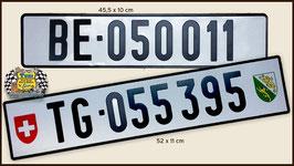 Schildersatz mit Nummern