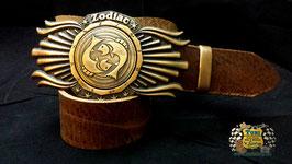 Zodiac-Schnalle Kupfer